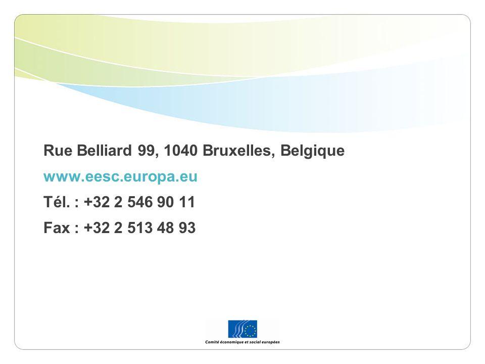 Rue Belliard 99, 1040 Bruxelles, Belgique