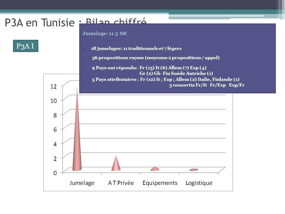 P3A en Tunisie : Bilan chiffré