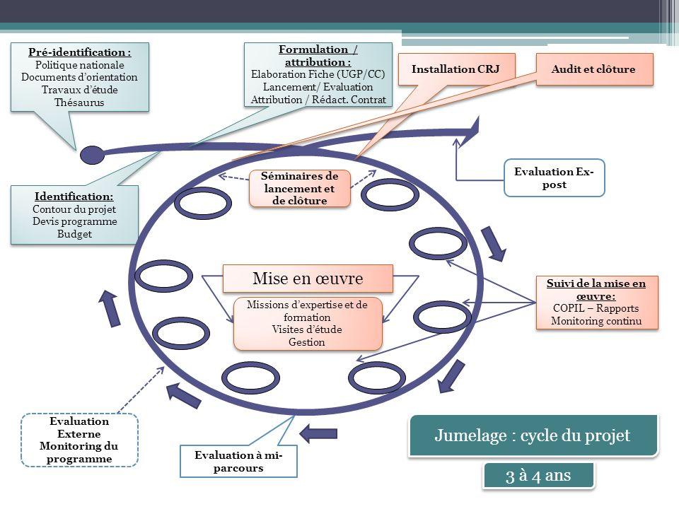 Jumelage : cycle du projet