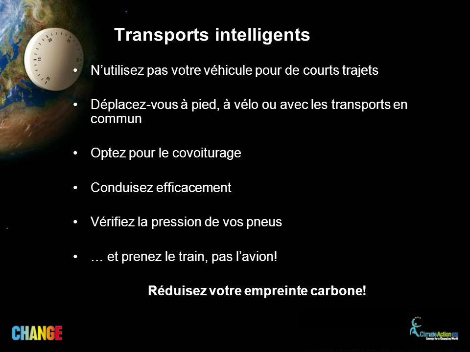 Transports intelligents