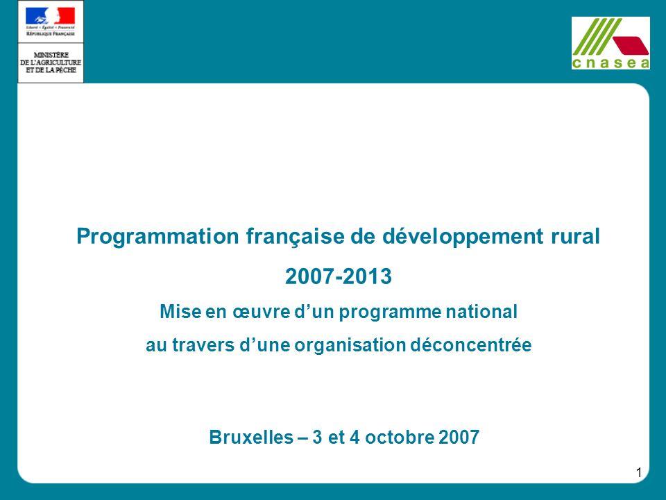 Programmation française de développement rural 2007-2013