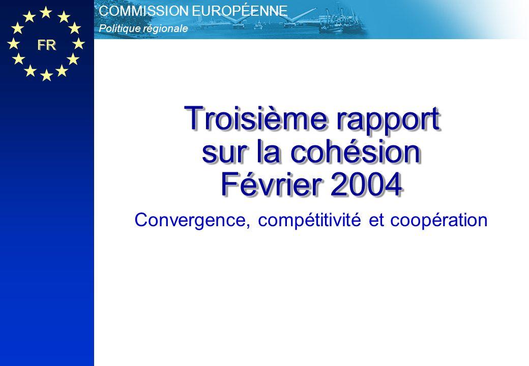 Troisième rapport sur la cohésion Février 2004