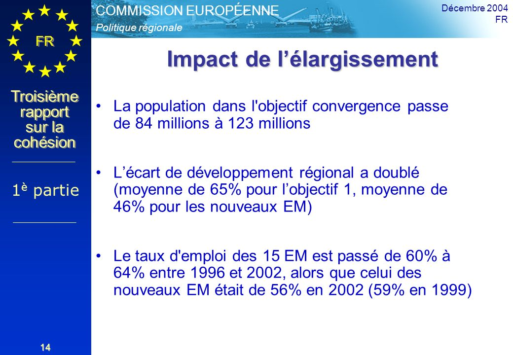 Impact de l'élargissement