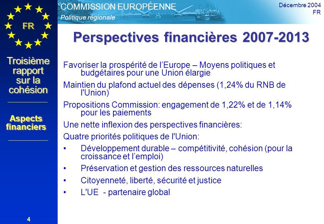 Perspectives financières 2007-2013