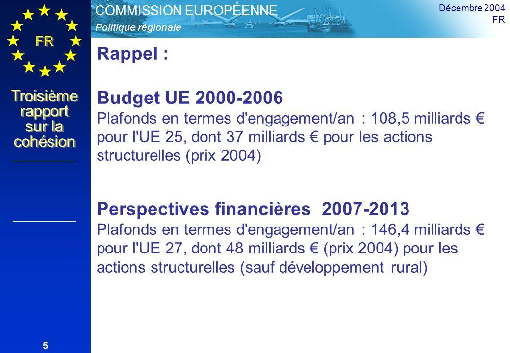 Décembre 2004 FR. Rappel :