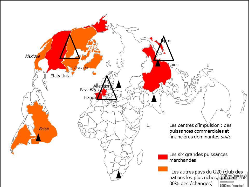 Japon Mexique. Chine. Canada. Etats-Unis. Allemagne. Pays-Bas. France.