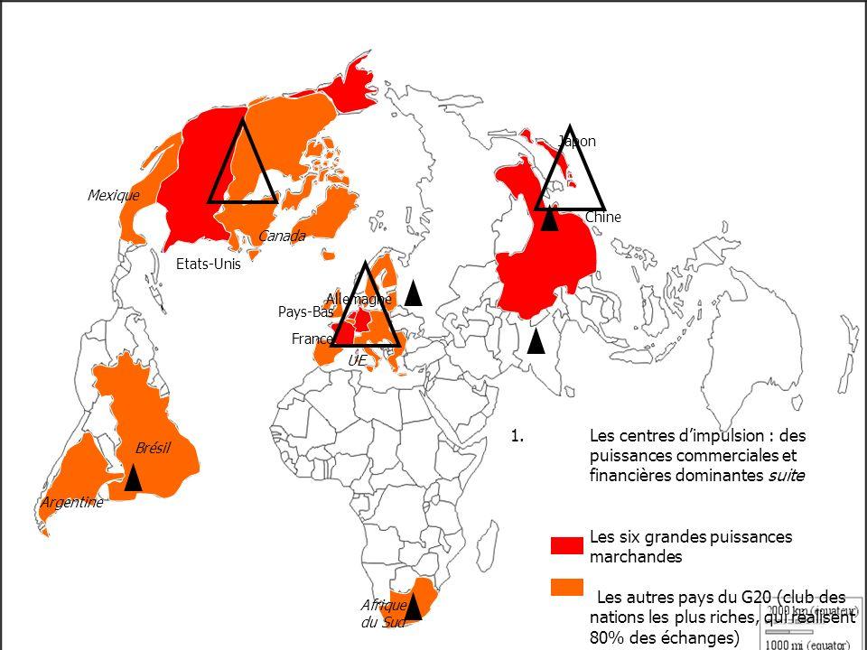 Japon Mexique. Chine. Canada. Etats-Unis. Allemagne. Pays-Bas. France. UE.