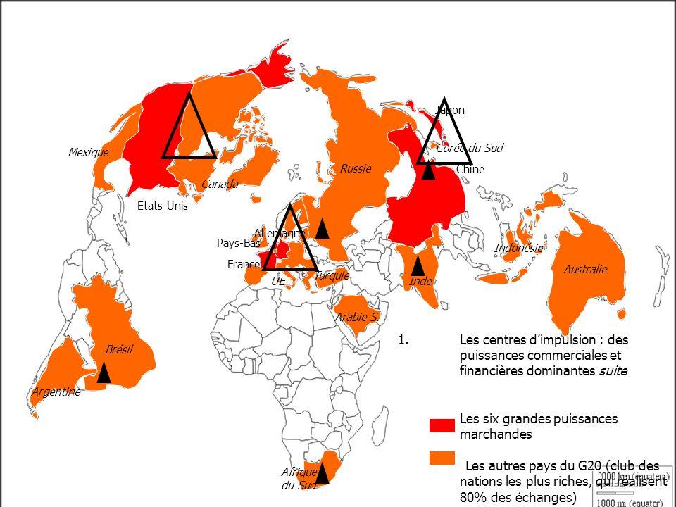 Japon Corée du Sud. Mexique. Russie. Chine. Canada. Etats-Unis. Allemagne. Pays-Bas. Indonésie.