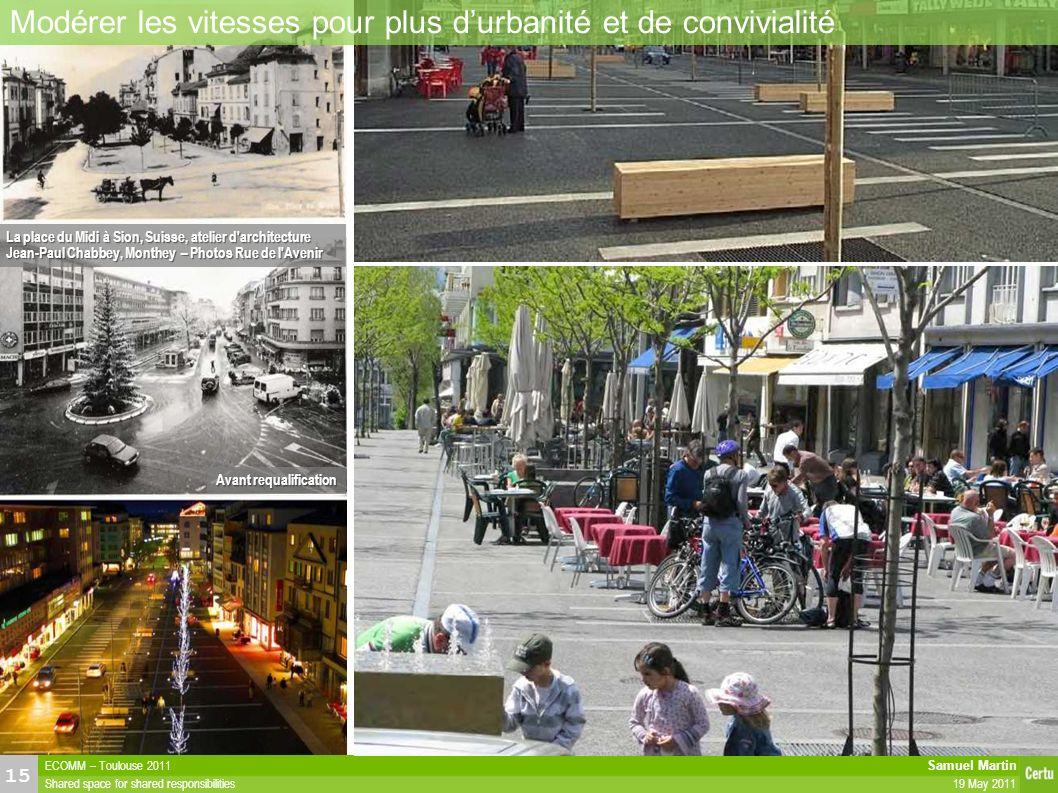 Faire cohabiter : les espaces publics partagés
