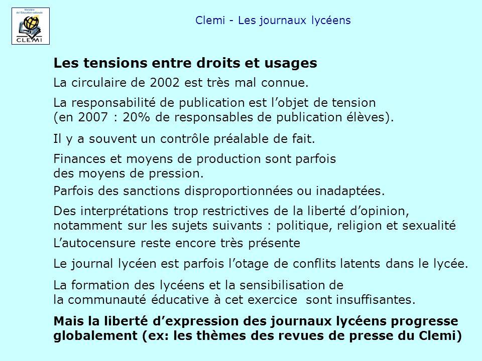 Clemi - Les journaux lycéens