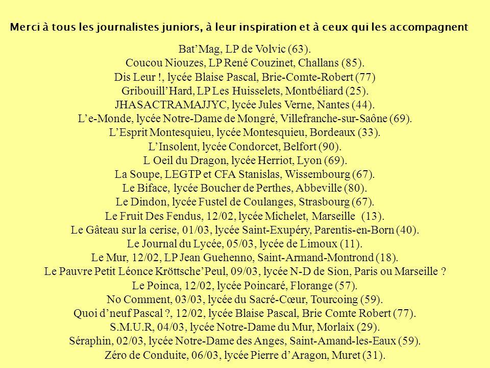 Coucou Niouzes, LP René Couzinet, Challans (85).