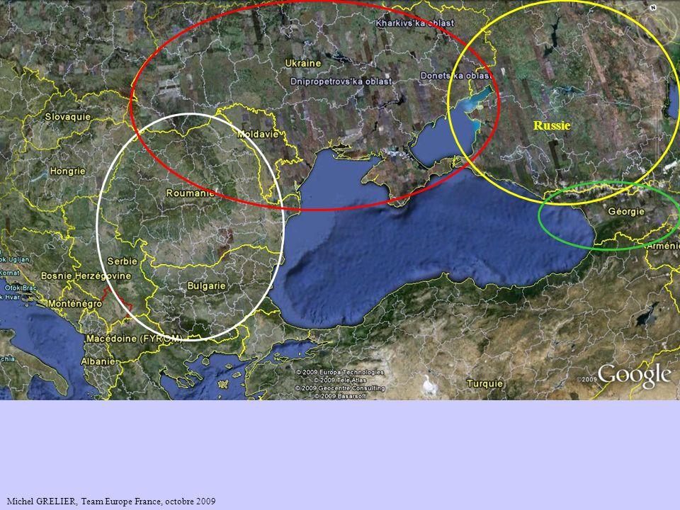 Mer Caspienne Mer Baltique Mer Noire Russie … la Géorgie, …