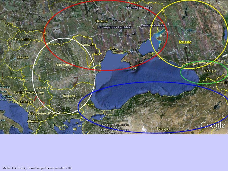 Mer Caspienne Mer Baltique Mer Noire Russie