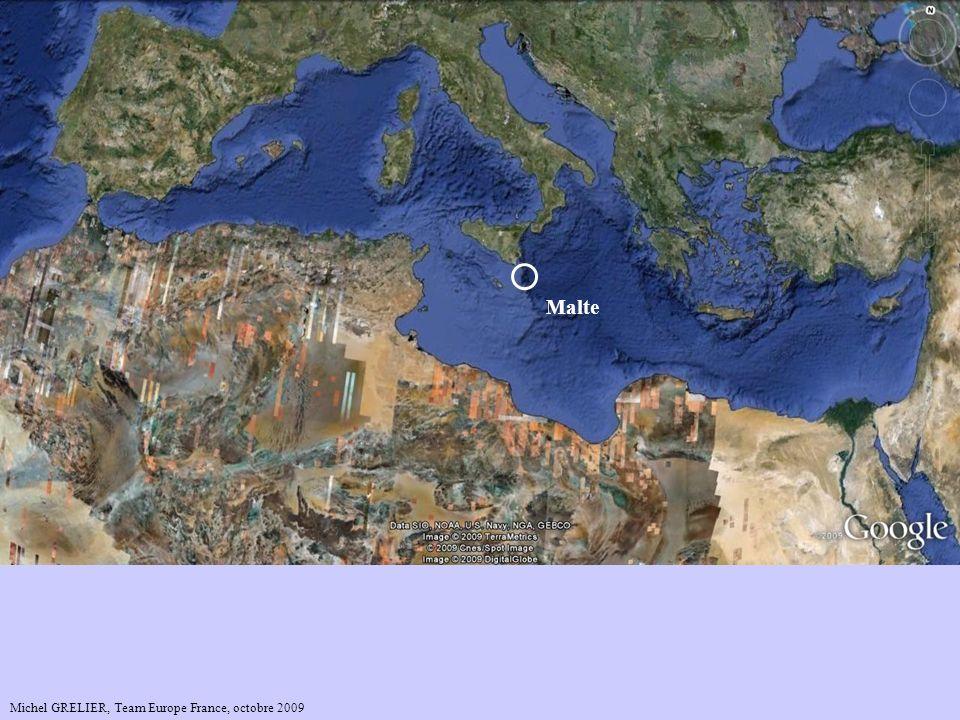 Mer Caspienne Mer Baltique Mer Noire Malte