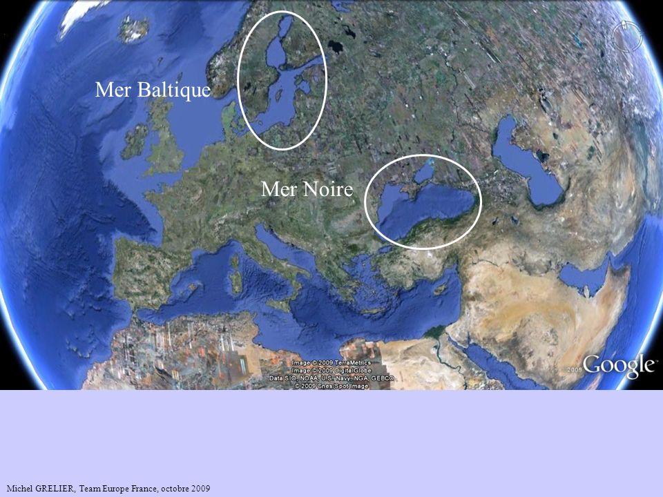 Mer Baltique Mer Noire La Mer Noire.