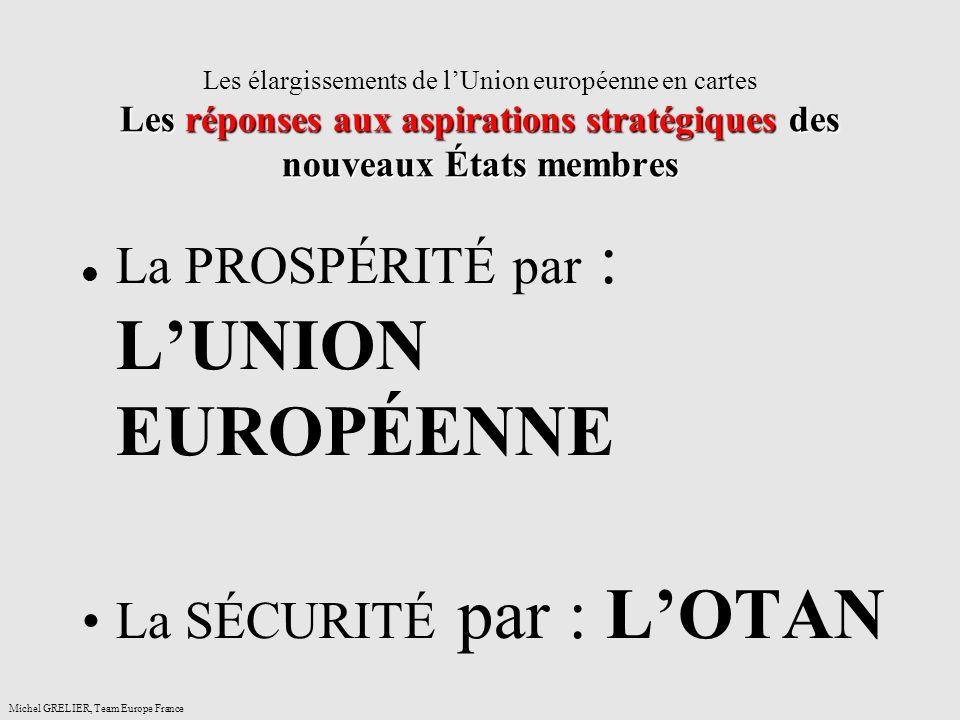 La PROSPÉRITÉ par : L'UNION EUROPÉENNE