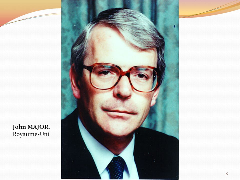 John MAJOR, Royaume-Uni