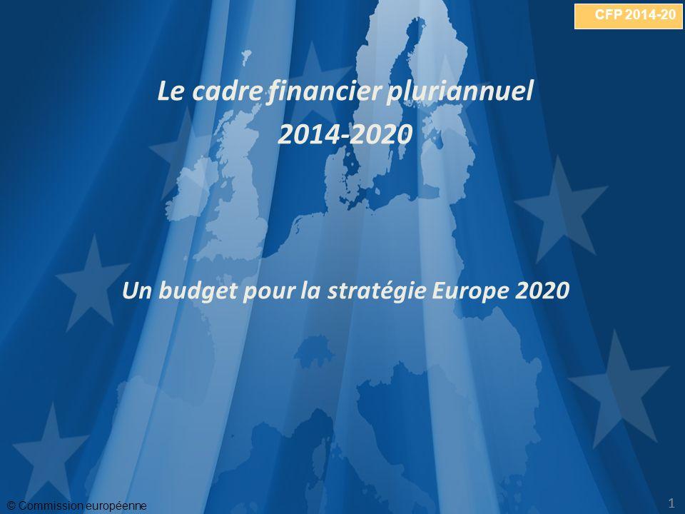 Le cadre financier pluriannuel Un budget pour la stratégie Europe 2020