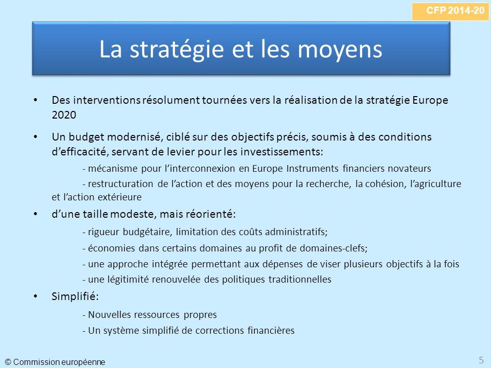 La stratégie et les moyens