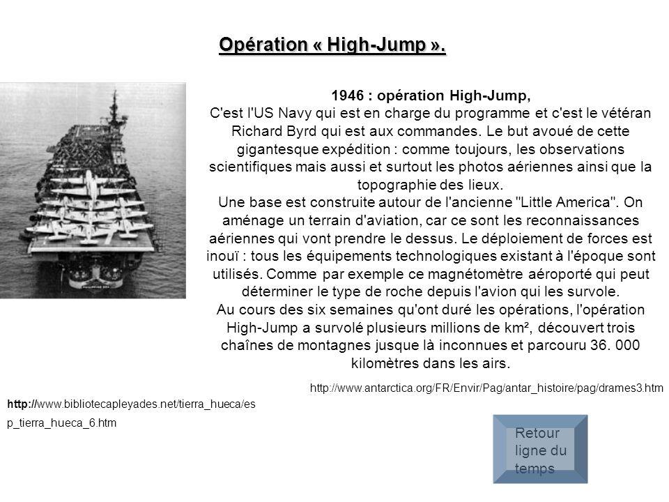 Opération « High-Jump ».