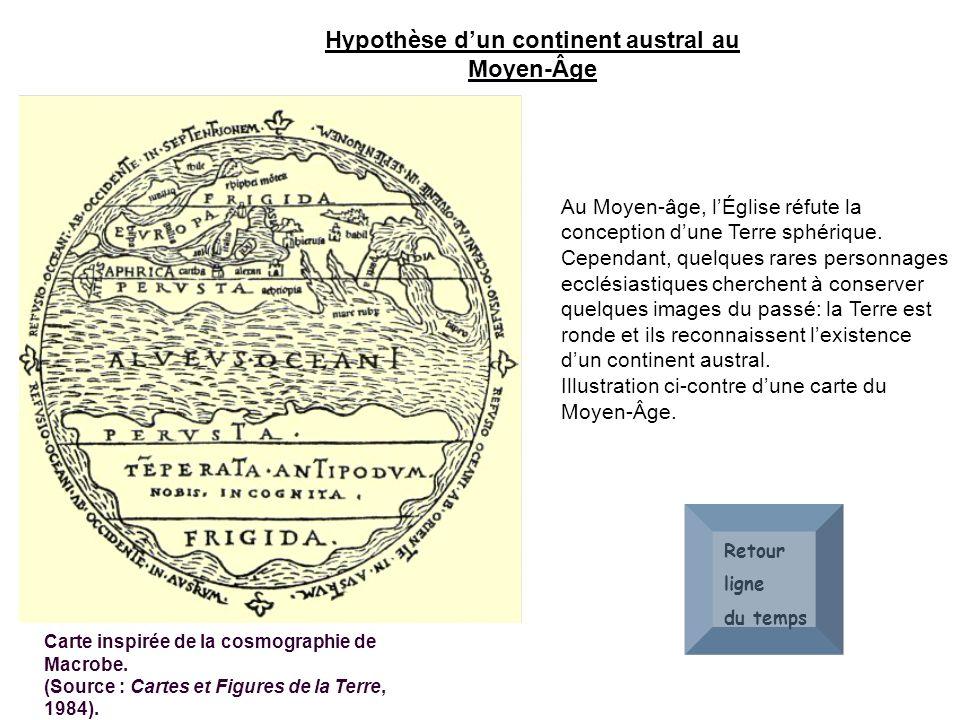 Hypothèse d'un continent austral au Moyen-Âge