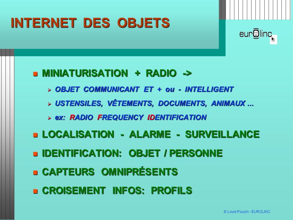 INTERNET DES OBJETS MINIATURISATION + RADIO ->
