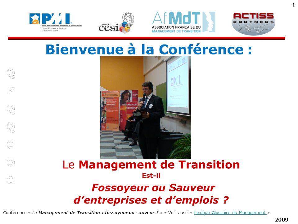 Bienvenue à la Conférence : d'entreprises et d'emplois
