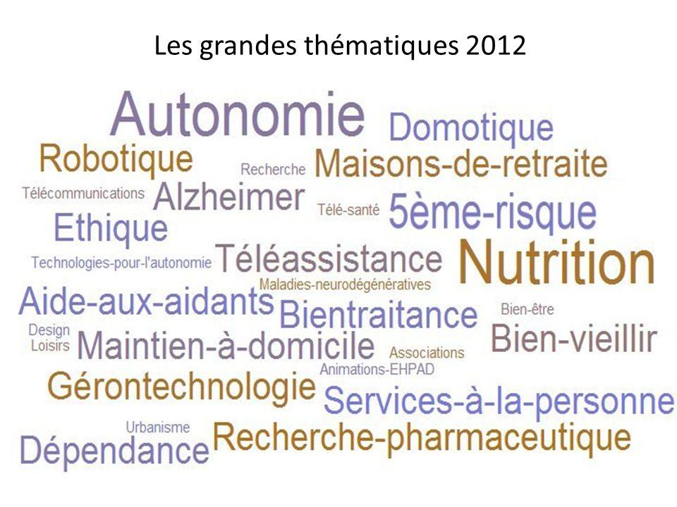 Les grandes thématiques 2012