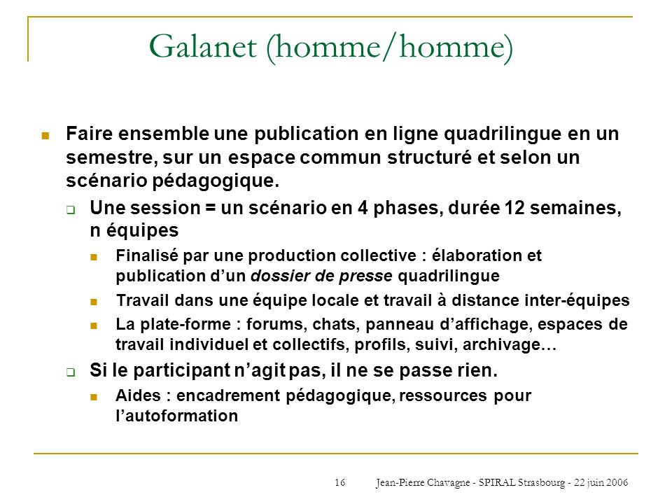 Galanet (homme/homme)