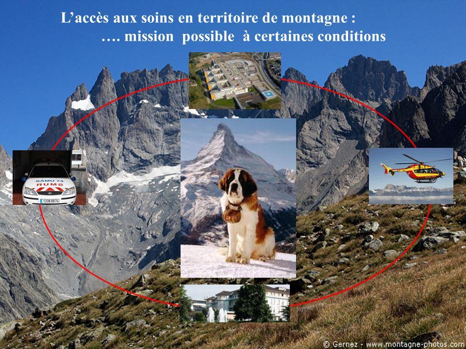 L'accès aux soins en territoire de montagne :