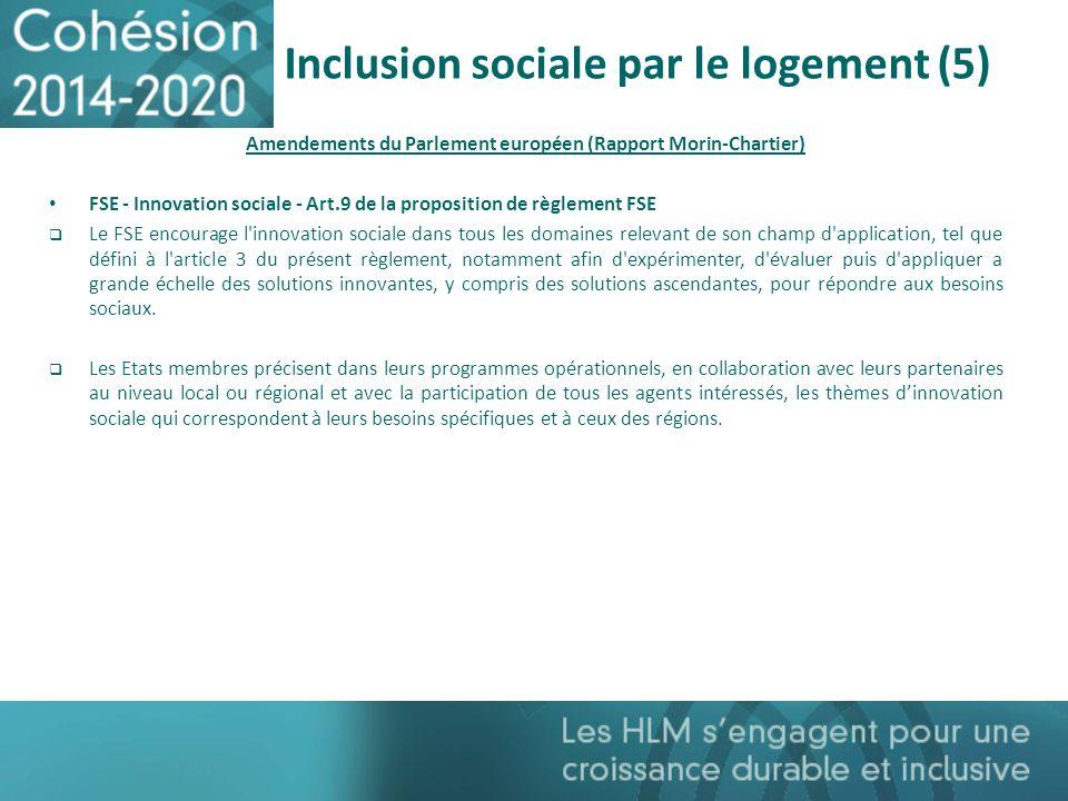 Inclusion sociale par le logement (5)