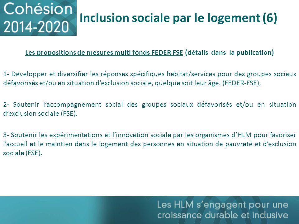 Inclusion sociale par le logement (6)