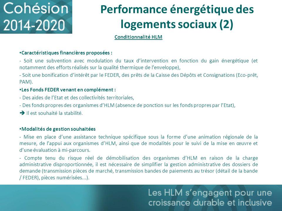 Performance énergétique des logements sociaux (2)