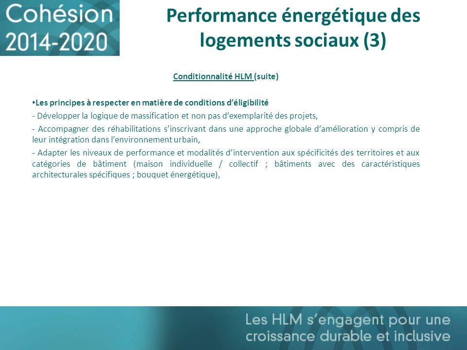 Performance énergétique des logements sociaux (3)