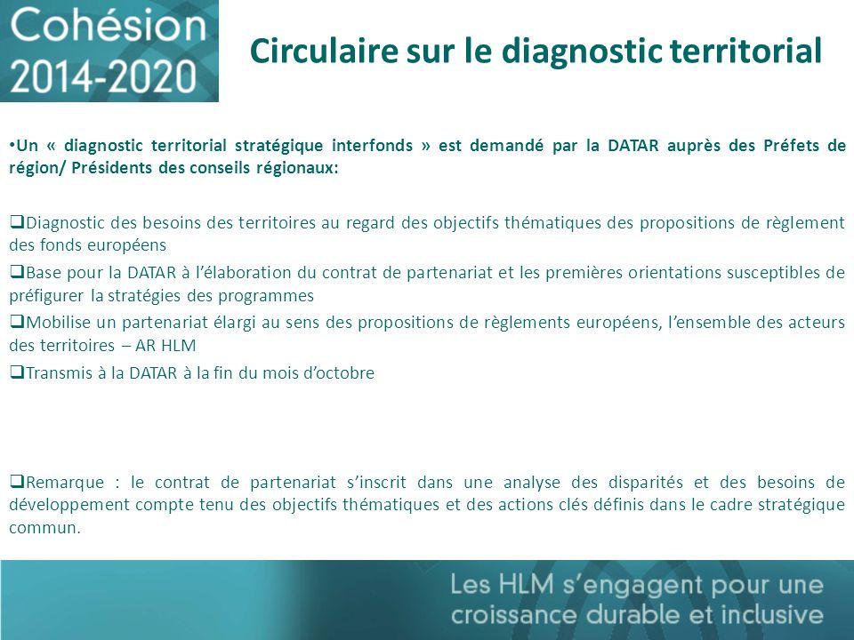 Circulaire sur le diagnostic territorial