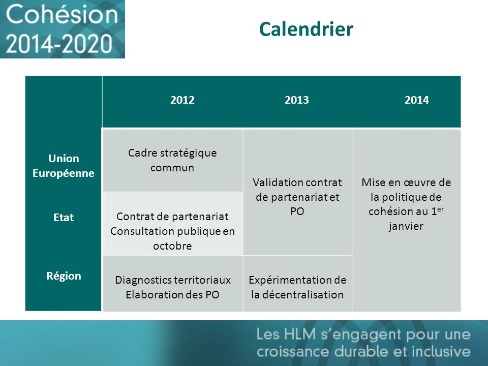 Calendrier Union Européenne Etat Région 2012 2013 2014