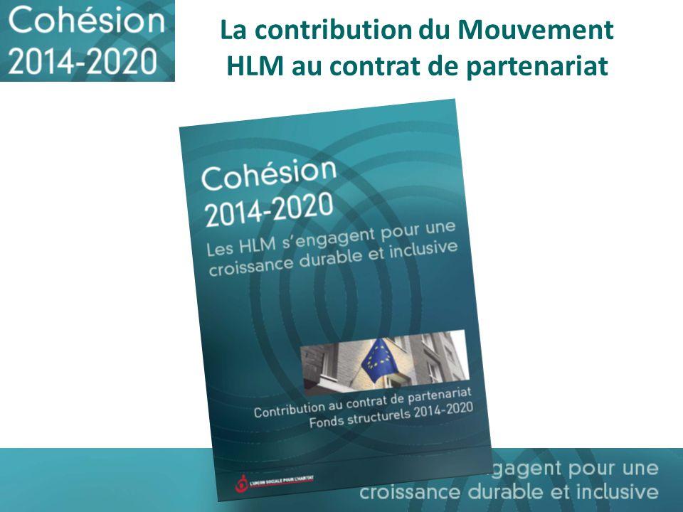 La contribution du Mouvement HLM au contrat de partenariat