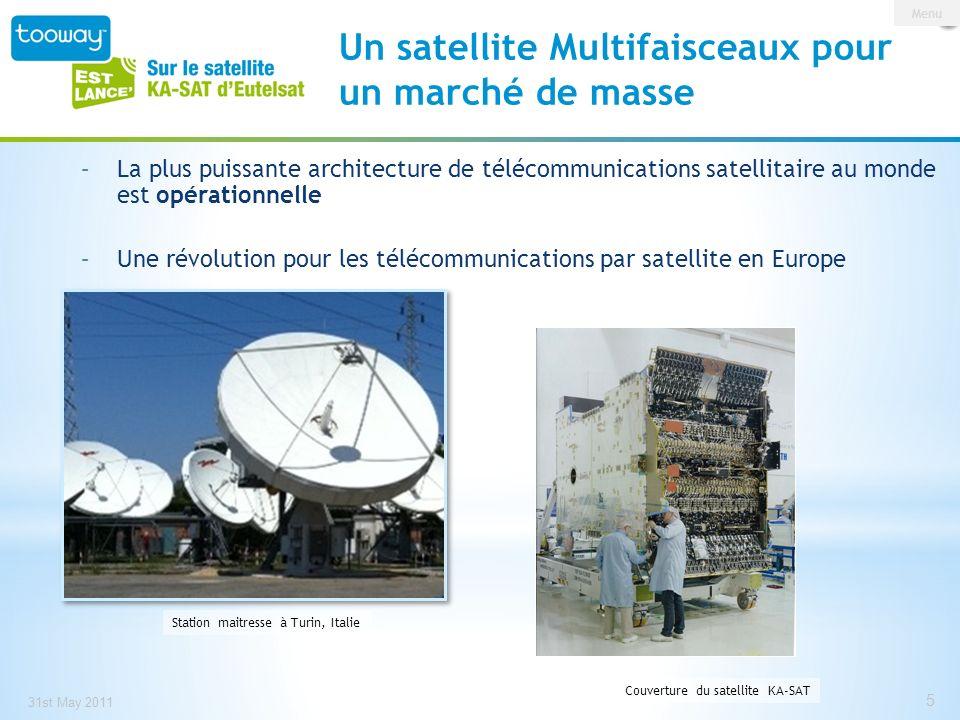 Un satellite Multifaisceaux pour un marché de masse