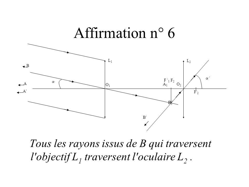Affirmation n° 6O1. F 1. L1. O2. F2. F 2. L2. A. B. A1. B1. B A  