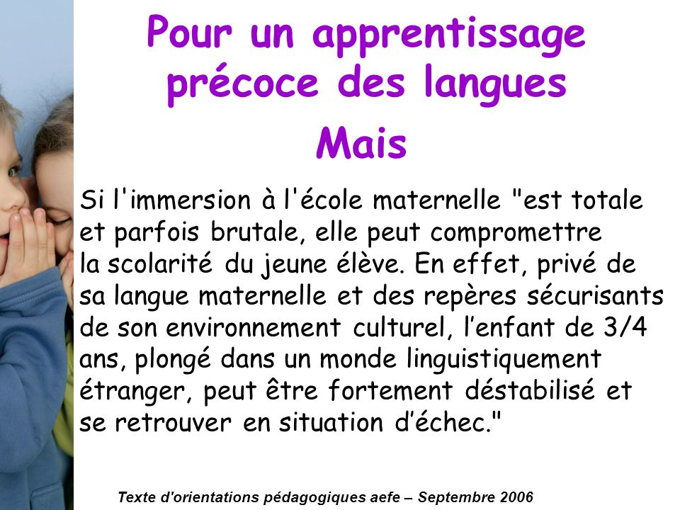 developpement de lenfant autonomie langage ppt video