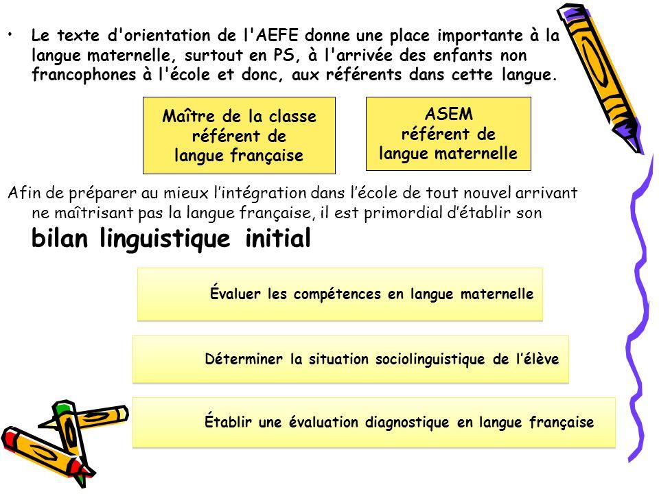 référent de langue française référent de langue maternelle