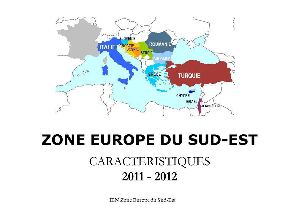 IEN Zone Europe du Sud-Est