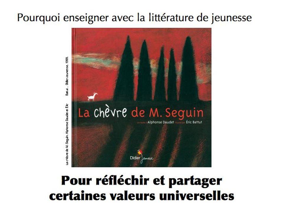 « La chèvre de Mr Seguin » Alphonse DAUDET Daudet a écrit à son ami Pierre Gringoire, écrivain à Paris. Il lui écrit au sujet de l'acceptation