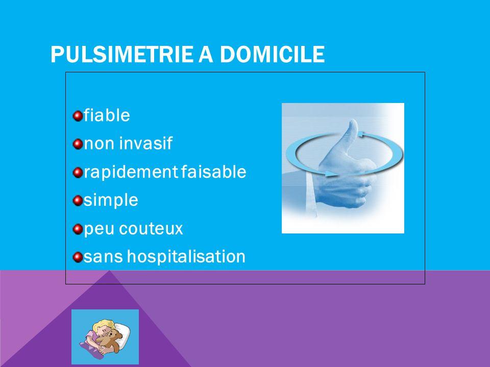 PULSIMETRIE A DOMICILE