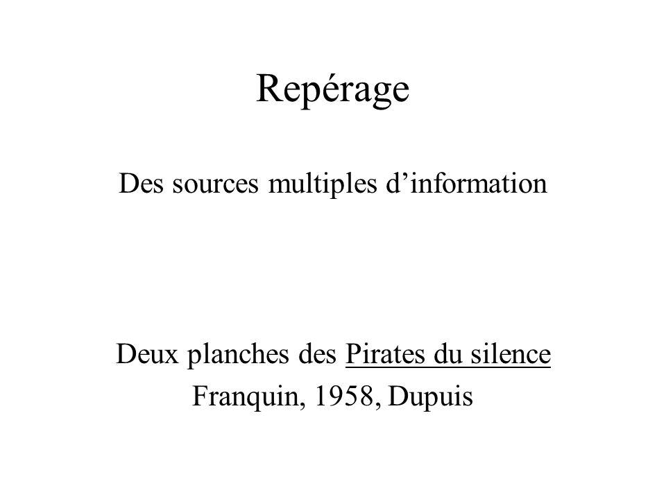Repérage Des sources multiples d'information