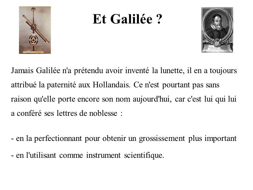 Et Galilée