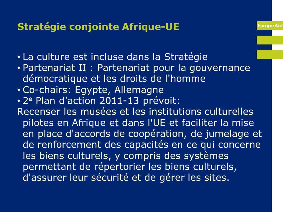 Stratégie conjointe Afrique-UE