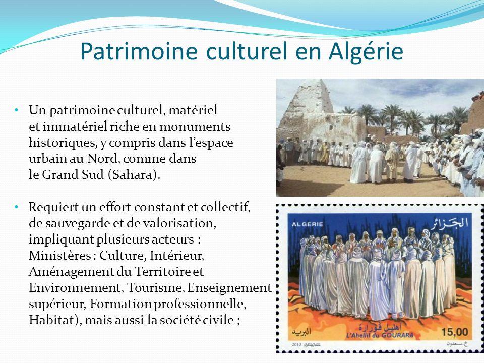 Patrimoine culturel en Algérie