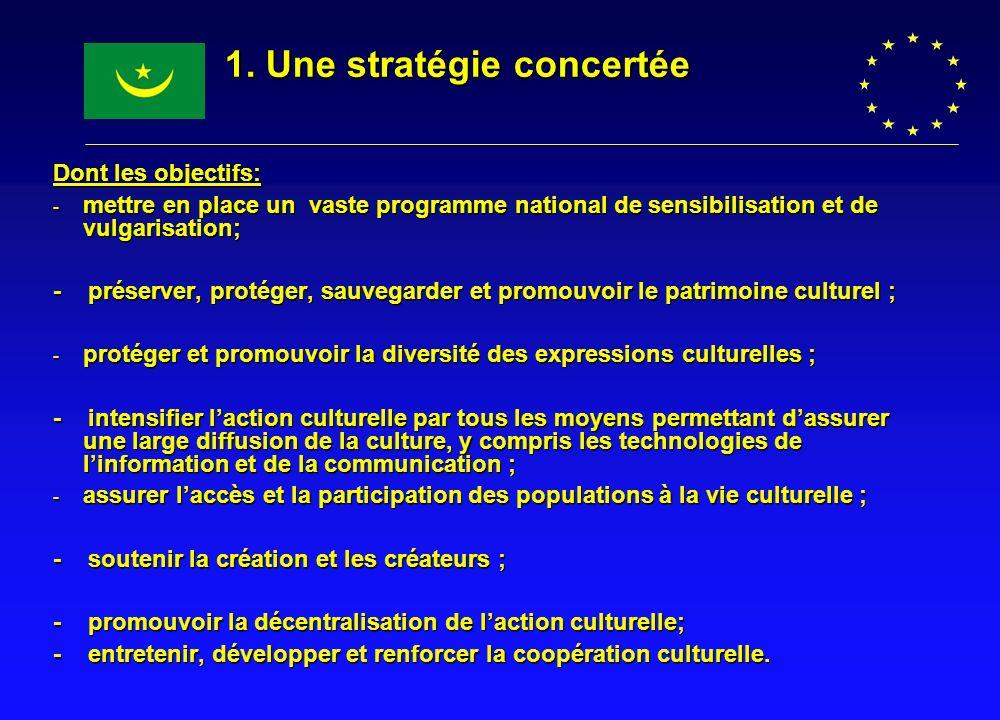 1. Une stratégie concertée