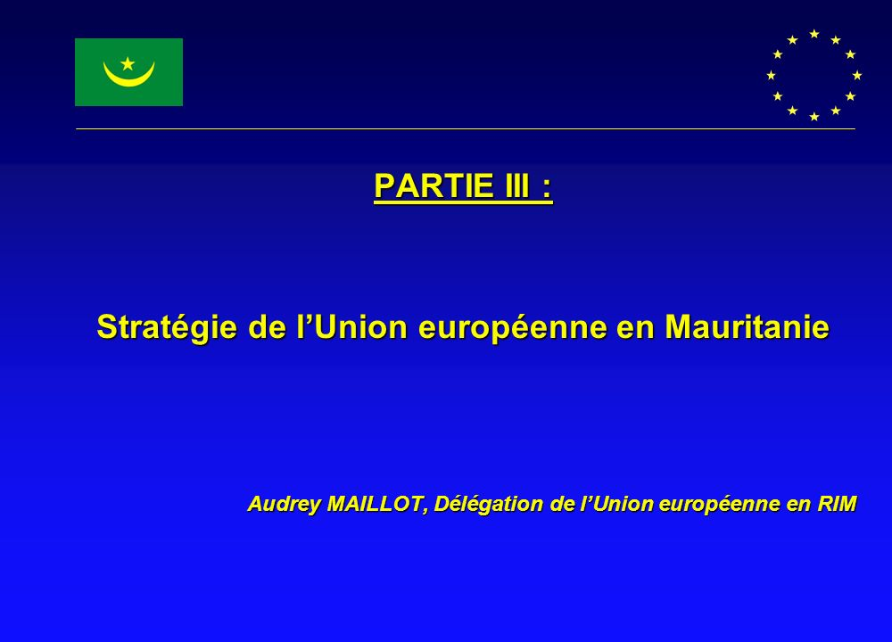 Stratégie de l'Union européenne en Mauritanie